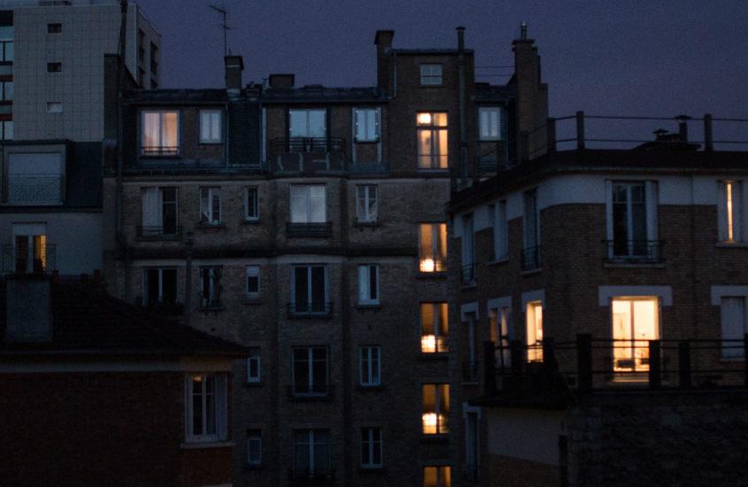 Dalla finestra di casa