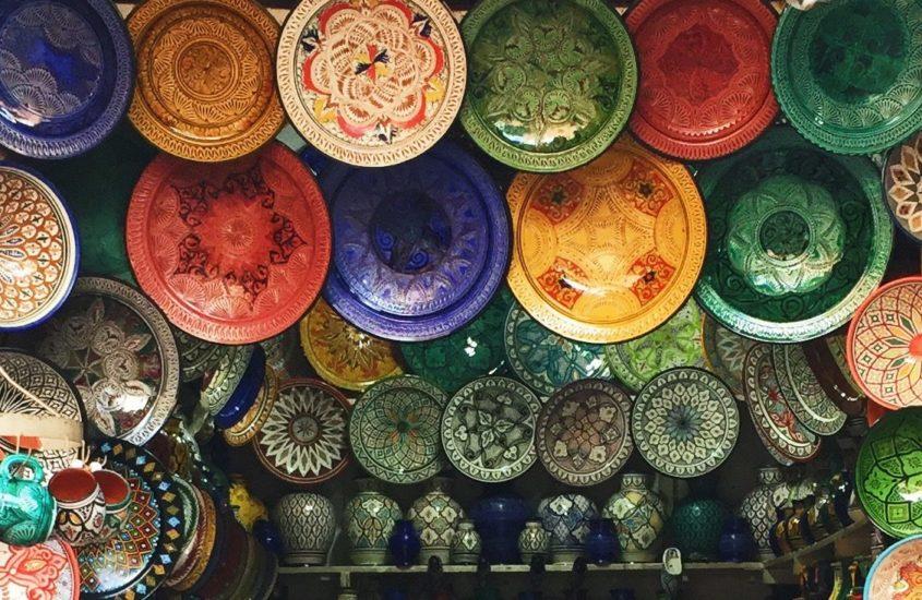 Marrakech e il fumo che fa rumore